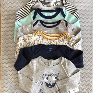 3/$35 Boys 12M Bodysuit Bundle